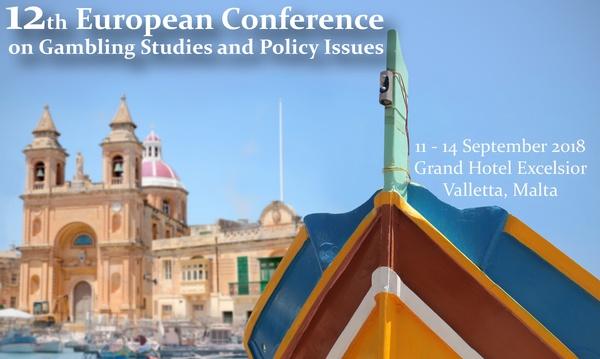 a 12-a Conferință Europeană privind Studiul și Politicile din domeniul Jocurilor de Noroc,